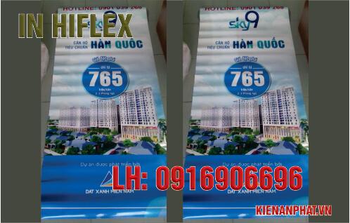 In hiflex quảng cáo chuyên nghiệp tại TPHCM
