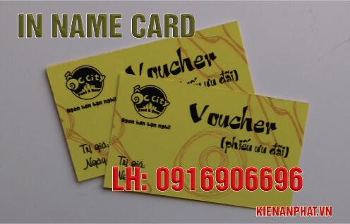In name card tại tphcm
