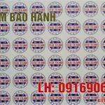 in tem bảo hành điện thoại