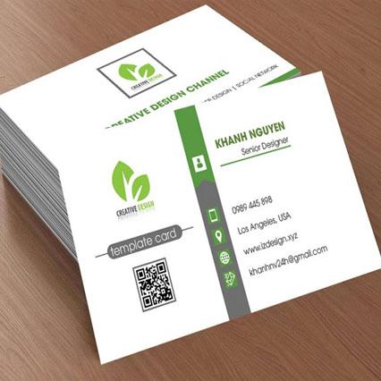 Dịch vụ in card visit nhanh, lấy ngay trong ngày tại quận Bình Thạnh