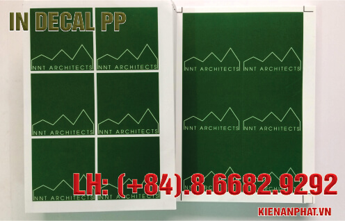 in decal pp giá rẻ