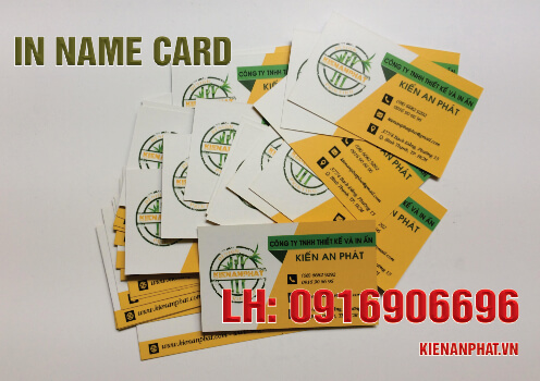 giá in name card