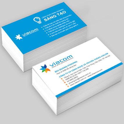 In card visit nhanh, chất lượng, siêu đẹp tại tphcm